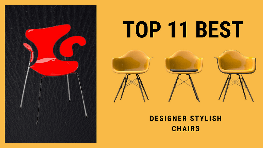 Top 11 best stylish chairs seatcomfort