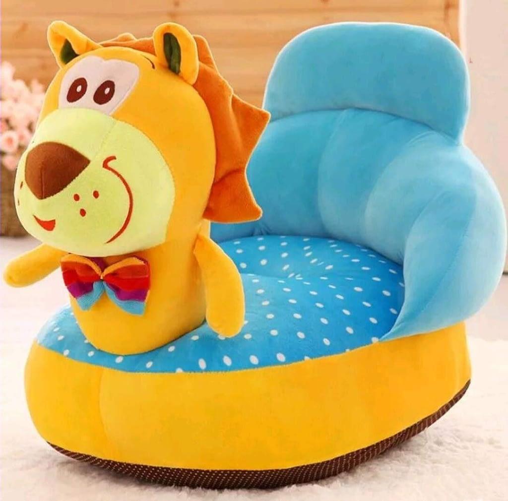 #4 AH ARTSY HOME Lion Shape Baby Sofa Seat