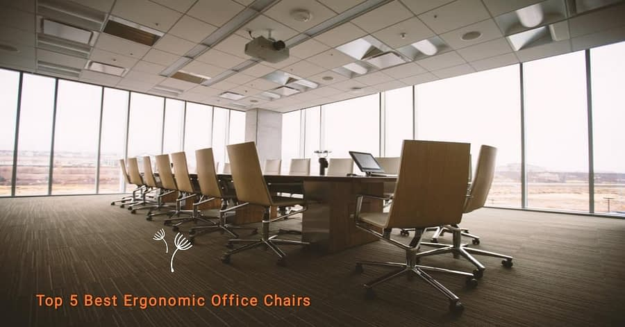 Ergonomic Office Chairs Low Price Top 5 India 2021
