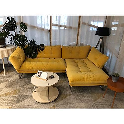Nordic Velvet Fabric Sectional Sofa Set for Living space