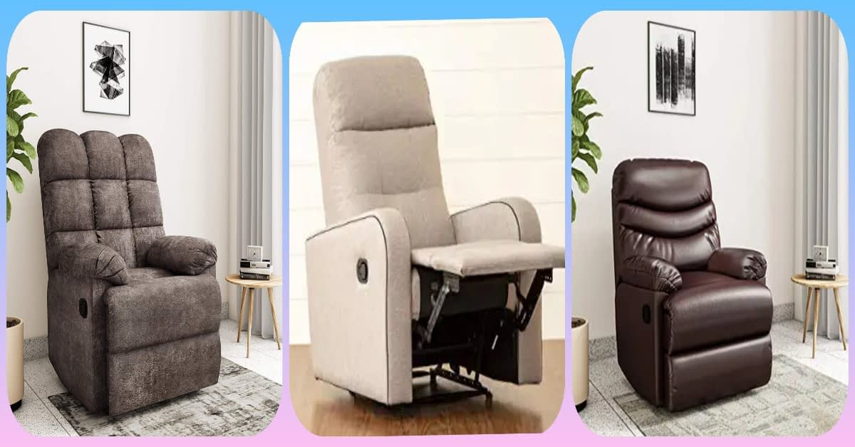 best single seater recliner sofa sets india 2021