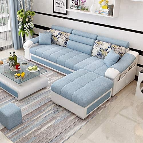 10. Best furniture 4 Seater Sofa Set For front Room