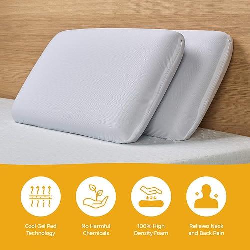 SOLARA Orthopaedic Memory Foam Pillow