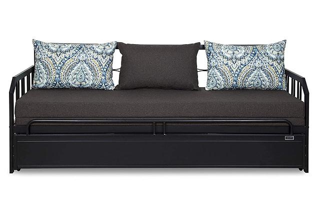 Metallika Centerville Three Seater Sofa-Cum-Bed with Mattress