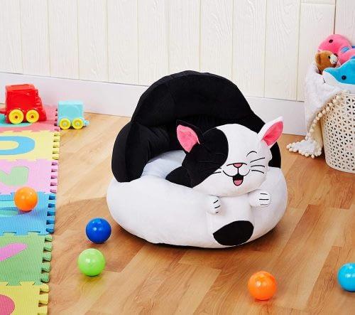 #7 Amazon Brand - Solimo Baby Sofa Seat, Cat