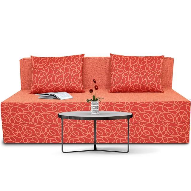4.Adorn India Easy Three Seater Poly Cotton